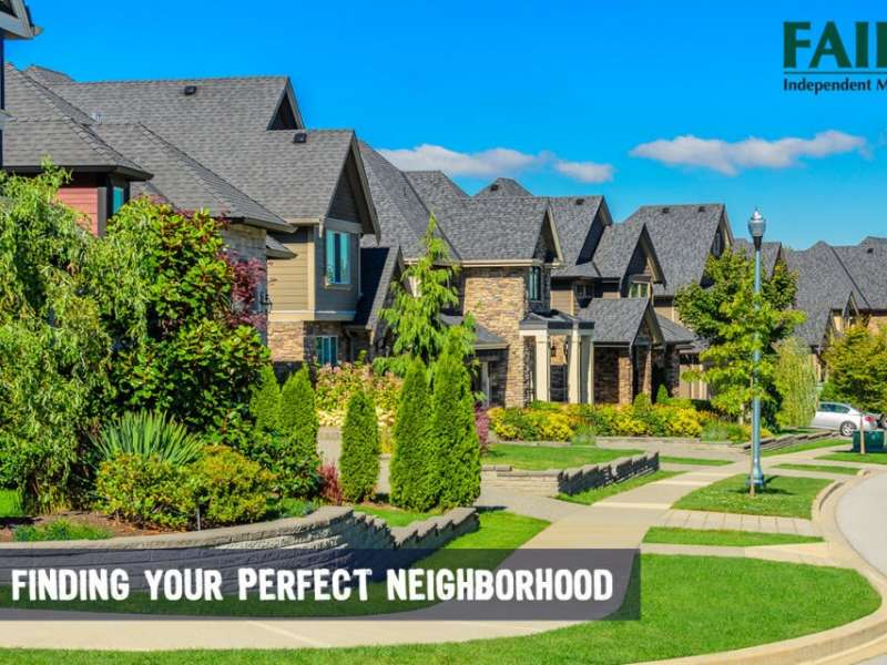 Pick Your Perfect Neighborhood