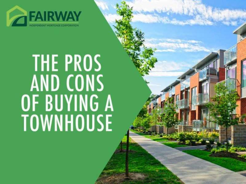 The Pros and Cons of Buying a Townhouse