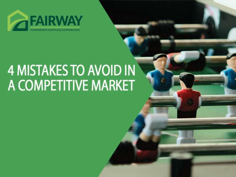 4 Mistakes to Avoid in a Competitive Market