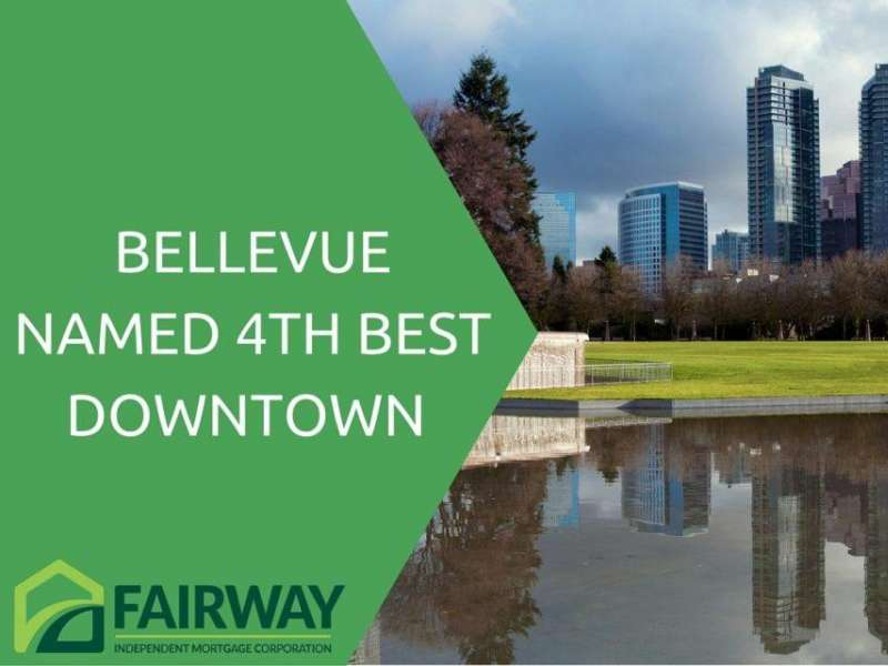 Bellevue Named No. 4 Among Top 10 Downtowns