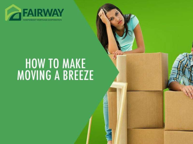 How To Make Moving A Breeze